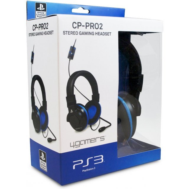 4Gamers Stereo Gaming Headset CP-Pro2 (PS3)