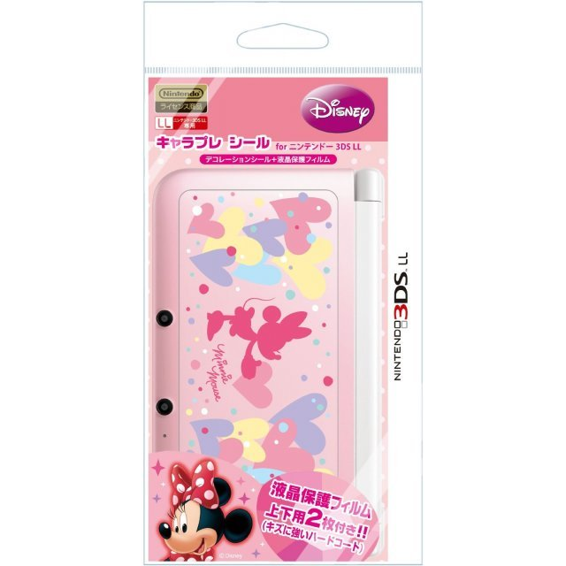 Chara Pure Seal for 3DS LL (Minnie)