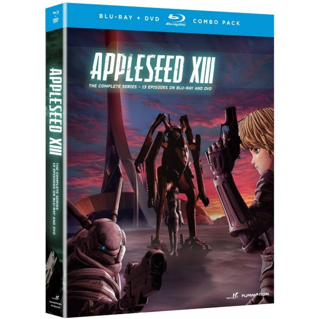 Appleseed Xiii : Complete Series [Blu-ray+DVD]