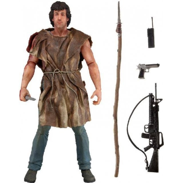 Rambo First Blood Series 2 Action Figure: Survival Rambo