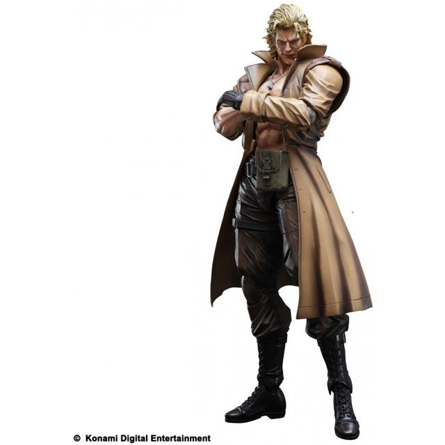 Metal Gear Solid Play Arts Kai Non Scale Pre-Painted PVC Figure: Liquid Snake