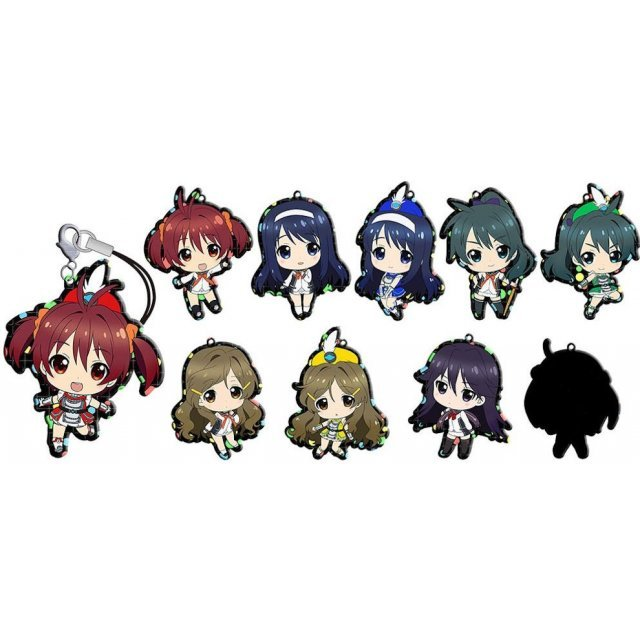 Vividred Operation Trading Metal Charm Strap (Set of 10)