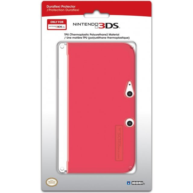 3DS XL Duraflexi Protector (Red)