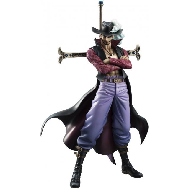 Excellent Model One Piece Neo-DX - Portraits of Pirates 1/8 Scale Pre-Painted Figure: Hawk-Eye Mihawk Ver.2 (Japanese Version)