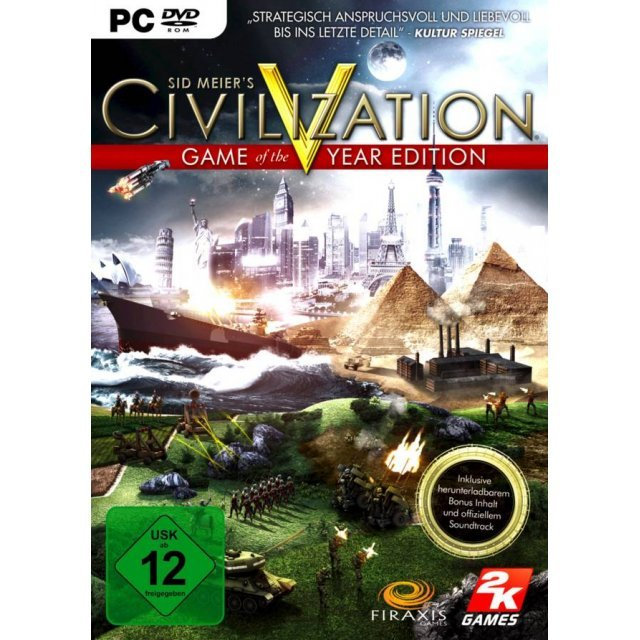 Sid Meier's Civilization V: Game of the Year Edition (DVD-ROM)