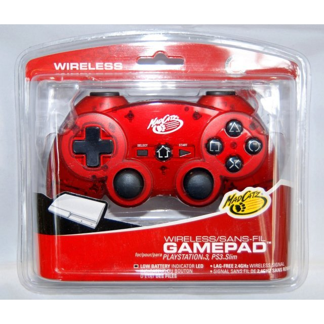 Wireless Gamepad (Metallic Red)