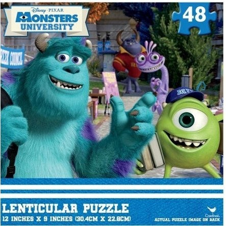 Monsters University Lenticular Puzzles