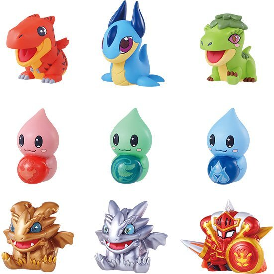 Puzzle & Dragons Collection Trading Figure: Dungeon of Beginning (Set of 10 pieces)