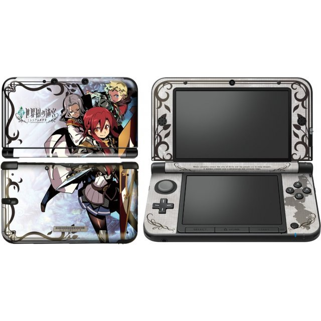 Shin Sekaiju no Meikyuu Design Skin for 3DS LL [Design 03]