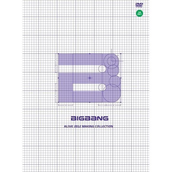 Big Bang's Alive 2012 Making Collection [3DVD+Photobook]