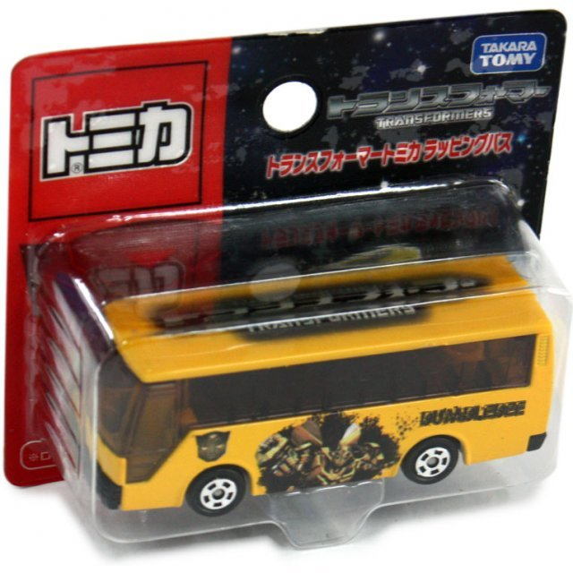 Tomica Bumblebee Bus with Wrap Die-Cast Vehicle