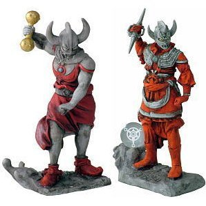 Ultra Twelve Heavenly Generals Ultraman Non Scale Pre-Painted Polyresin Figure: Taro & Father of Ultra Set (2 pieces)