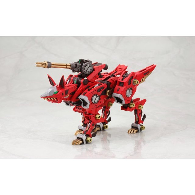Zoids HMM 1/72 Scale Pre-Painted Plastic Model Kit: RZ-046 Fire Fox