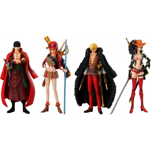One Piece Super One Piece-Styling Non Scale Pre-Painted Candy Toy: Film Z Special 2nd (Set of 8 pieces)