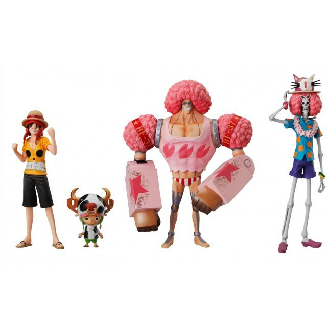 One Piece Super One Piece-Styling Non Scale Pre-Painted Candy Toy: Film Z Special 3rd (Set of 6 pieces)