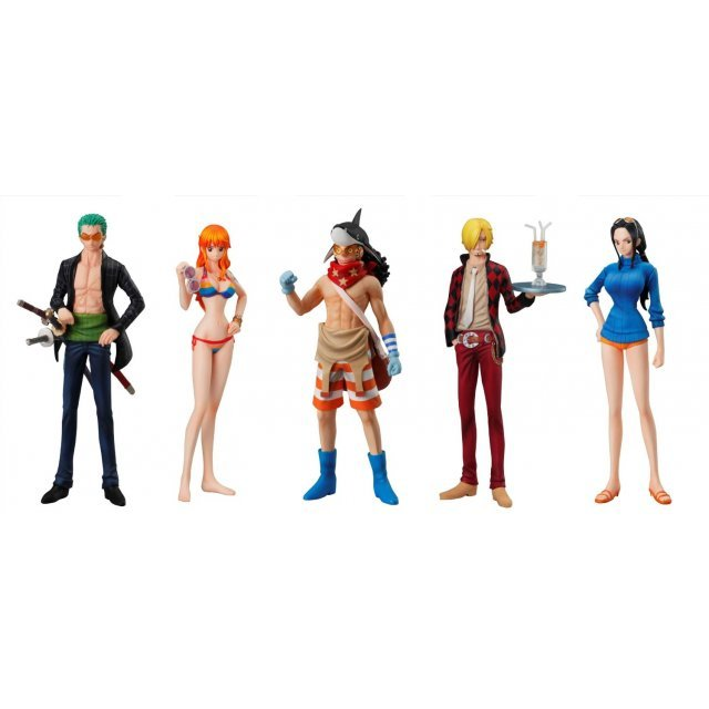 One Piece Super One Piece-Styling Non Scale Pre-Painted Candy Toy: Film Z Special 4th (Set of 10 pieces)