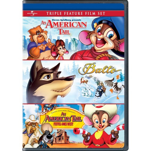 An American Tail / Balto / An American Tail: Fievel Goes West
