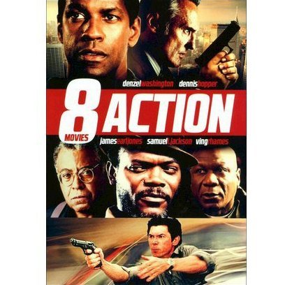 8-Action Movies Pack Vol. 8