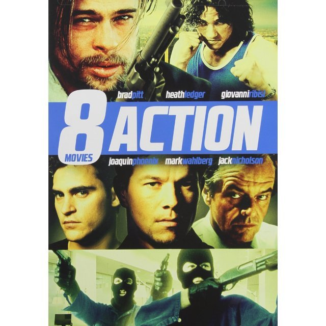 8-Action Movies Pack Vol. 9