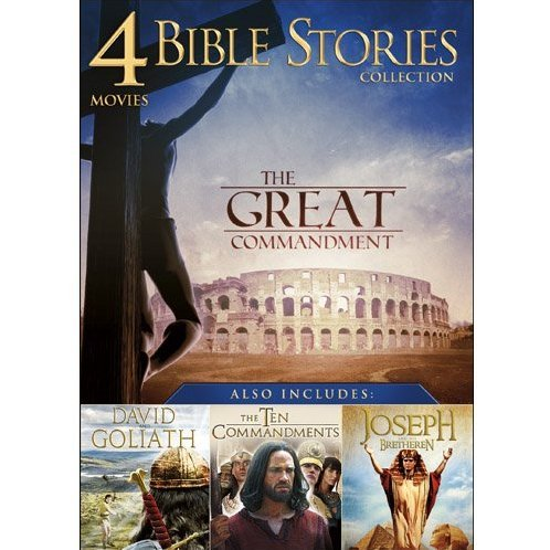 Bible Story Collection: 4 Movies Vol. 1