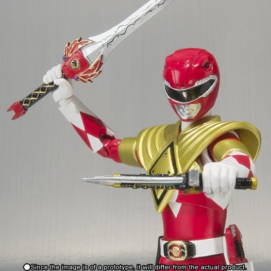 S.H.Figuarts Kyoryu Sentai Zyuranger Pre-Painted PVC Figure: Armed Tyranno Ranger