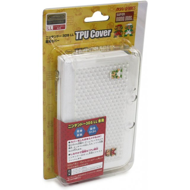 Super Mario Bros. TPU Cover for 3DS LL (Clear)