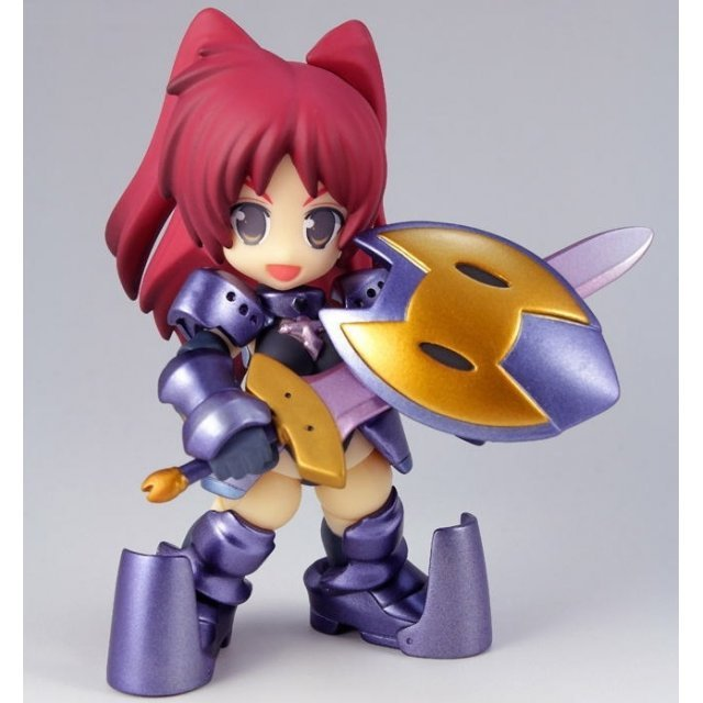 To Heart 2 Dungeon Travelers Non Scale Pre-Painted PVC Figure: Deforevo Fighter Kousaka Tamaki Dark Knight Color ver.
