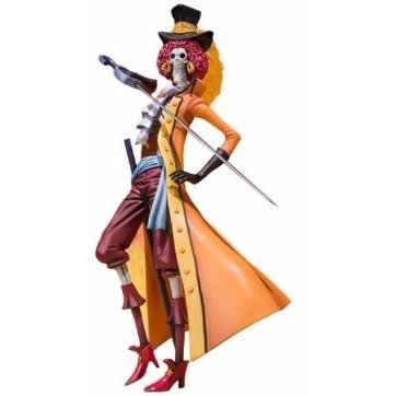 Figure Art Zero Brook - One Piece Film Z - Kessenfuku Syutsujin Ver.  (Tamashii Web exclusive)