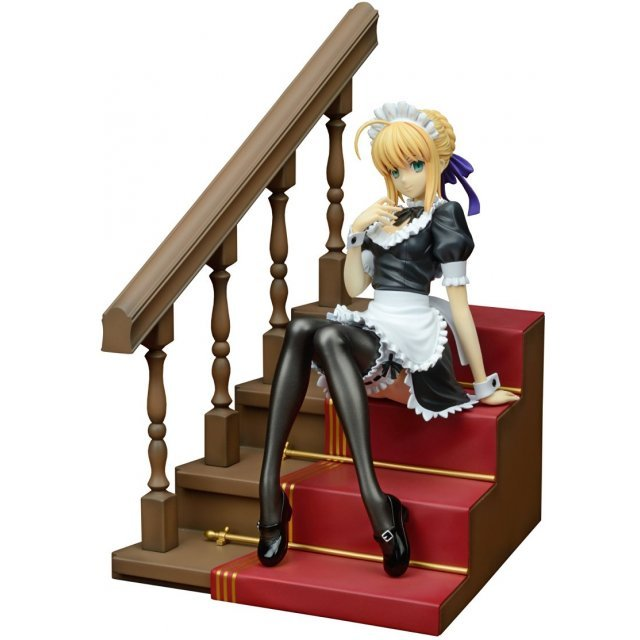 Fate/hollow ataraxia 1/7 Scale Pre-painted PVC Figure: Saber Delusion Maid Ver.