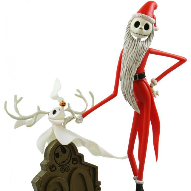 the nightmare before christmas pre painted pvc figure christmas jack skellington - Christmas Jack Skellington