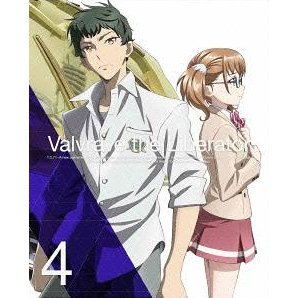 Valvrave The Liberator Vol.4 [DVD+CD Limited Edition]