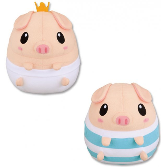 Monster Hunter Super DX Pugi Plush Doll: Pugi Asst A and Pugi Asst B