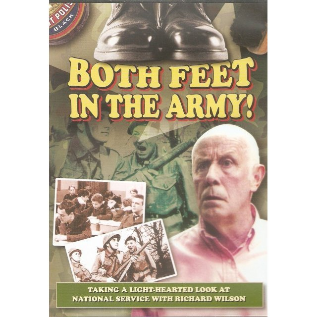 Both Feet in the Army!