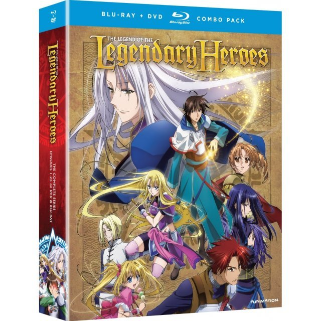 The Legend of the Legendary Heroes: The Complete Series (Episodes 1-25)