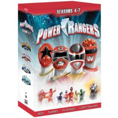 Power Rangers: Seasons 4-7