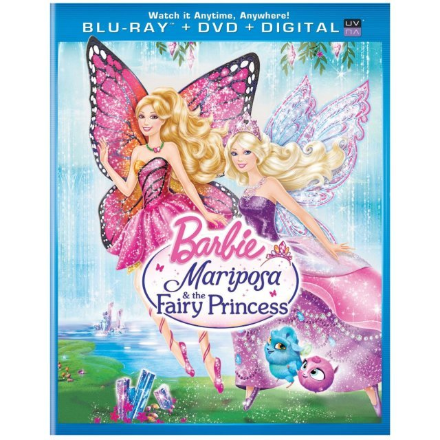 Barbie: Mariposa & the Fairy Princess [Blu-ray+DVD+Digital Copy+UltraViolet]