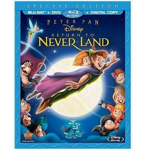 Peter Pan Return to Neverland [Special Edition Blu-ray+DVD+Digital Copy]
