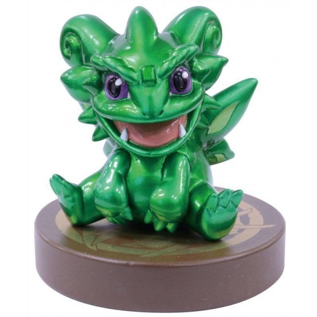 Chokonto Puzzle & Dragons Pre-Painted Polystone Figure: Emerald Dragon
