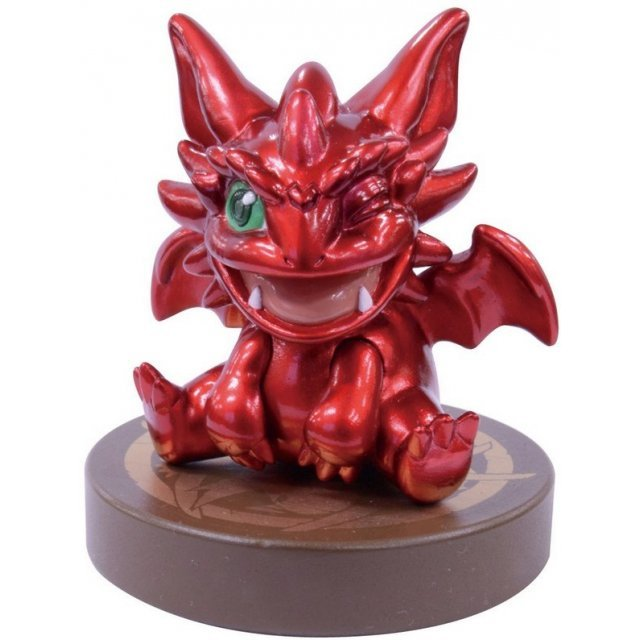 Chokonto Puzzle & Dragons Pre-Painted Polystone Figure: Ruby Dragon