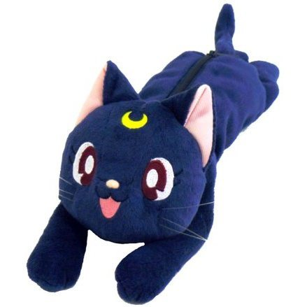 Sailor Moon Plush Doll: Luna (Re-run)