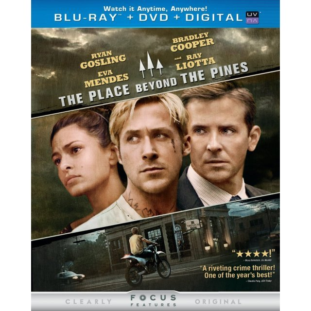 The Place Beyond the Pines [Blu-ray+DVD+Digital Copy+UltraViolet]