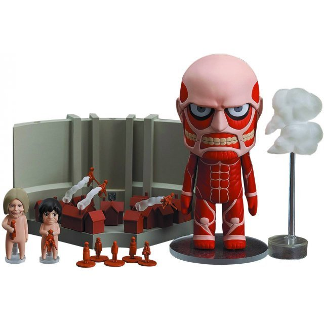Nendoroid No. 360 Attack on Titan: Colossal Titan & Attack on Titan Playset
