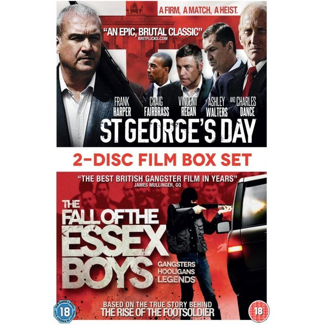 St George's Day and Fall of the Essex Boys [2-Disc Film Box Set]
