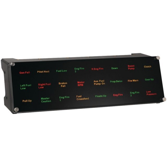 Saitek Pro Flight Backlit Information Panel, USB (PC)
