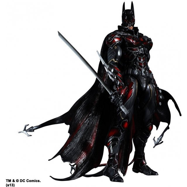 DC Comics Variant Play Arts Kai Non Scale Pre-Painted Figure: Batman Limited Color Ver.