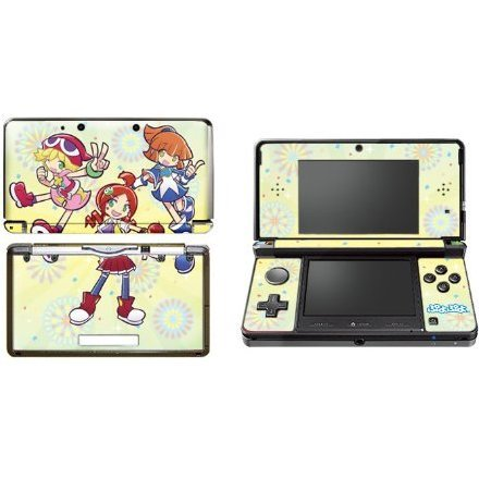 Puyo Puyo Design Skin for 3DS (Yellow)