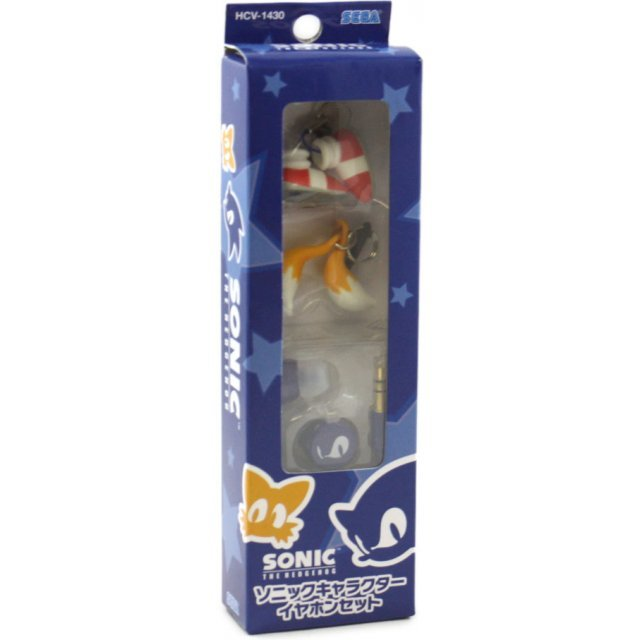 Sega Sonic Character Earphone