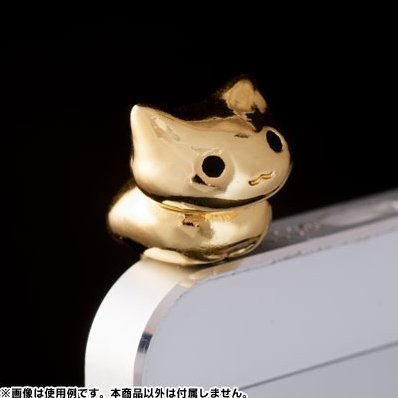 Earphone Jack: CRT Nyanko Gold