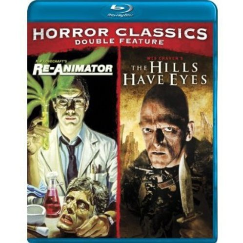 Cult Horror Classics Double Feature (Re-Animator / The Hills Have Eyes)