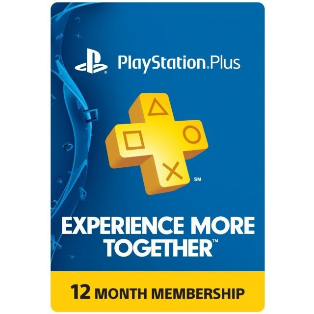 PSN Card 12 Month   Playstation Plus US digital